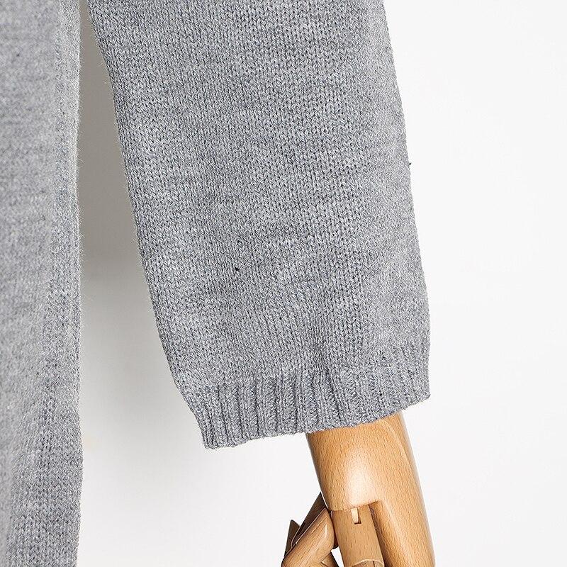 Suéter jersey larga alto 21