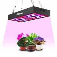 JCBritw LED cultiver le spectre complet du panneau lumineux avec la chaîne de marguerite UV IR 30W Pro cultiver des lampes Kit de suspension hydroponique pour les plantes d'intérieur