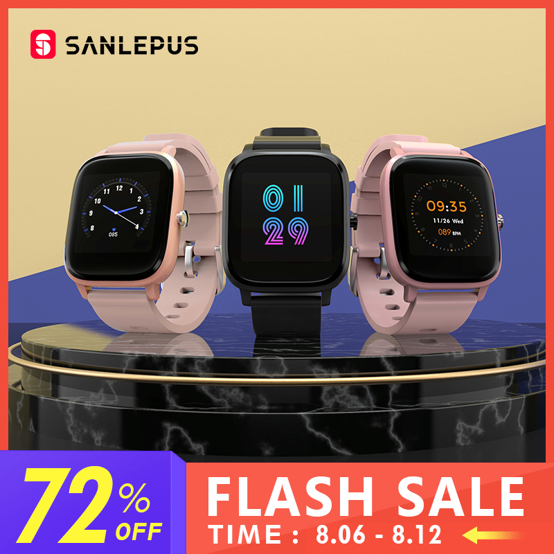 2020 SANLEPUS Smart Watch Sport Heart Rate Monitor Waterproof Fitness Bracelet Men Women Smartwatch For Android iOS Apple Xiaomi(China)