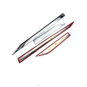 Image 4 - ABS Chrome Plastic Side Molding Cover Trim Door Body Kits for Toyota RAV4 RAV 4 2019 2020 accessories 4pcs/set