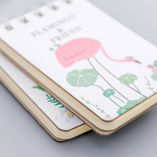 1pack/lot new flamingo series Creative portable Small Coil Diary Notebook Stationery student supplies 1pcs lot small green tree series small coil diary notebook stationery sketchbook school offices supplies