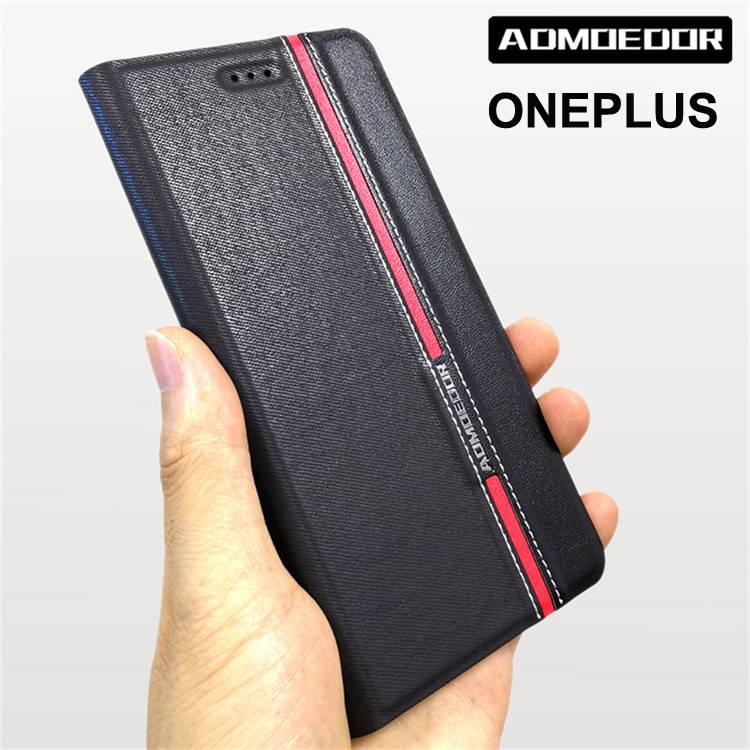 oneplus 3 3T 5 5T 6 <font><b>6T</b></font> 7 7T Case Ultra thin <font><b>Leather</b></font> flip <font><b>cover</b></font> for <font><b>one</b></font> <font><b>plus</b></font> 1+ 7 <font><b>6T</b></font> 5T 3T back cases Wallet Style Stand image