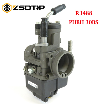 ZSDTRP Moto Guzzi carburador PHBH 30BS 4T(B) R3488 para 125-300cc 4T carburador del motor