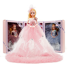 40 cm wedding dress doll girl toy boutique dance gift box set princess xiaoyi