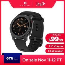 In Voorraad Global Versie Nieuwe Amazfit Gtr 42Mm Smart Horloge 5ATM Vrouwen Horloges 12 Dagen Batterij Muziek Controle voor Android Ios