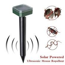 Solar Power Repeller 400-1000(HZ) 1.2V 600MAH Gopher Insect Garden Yard Animal Rodent Control Electronic Eco Friendly Outdoor генераторы эффектов antari hz 400