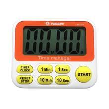 Lectronic lcd 3в1 часы таймер с обратным отсчетом кухонный сигнал