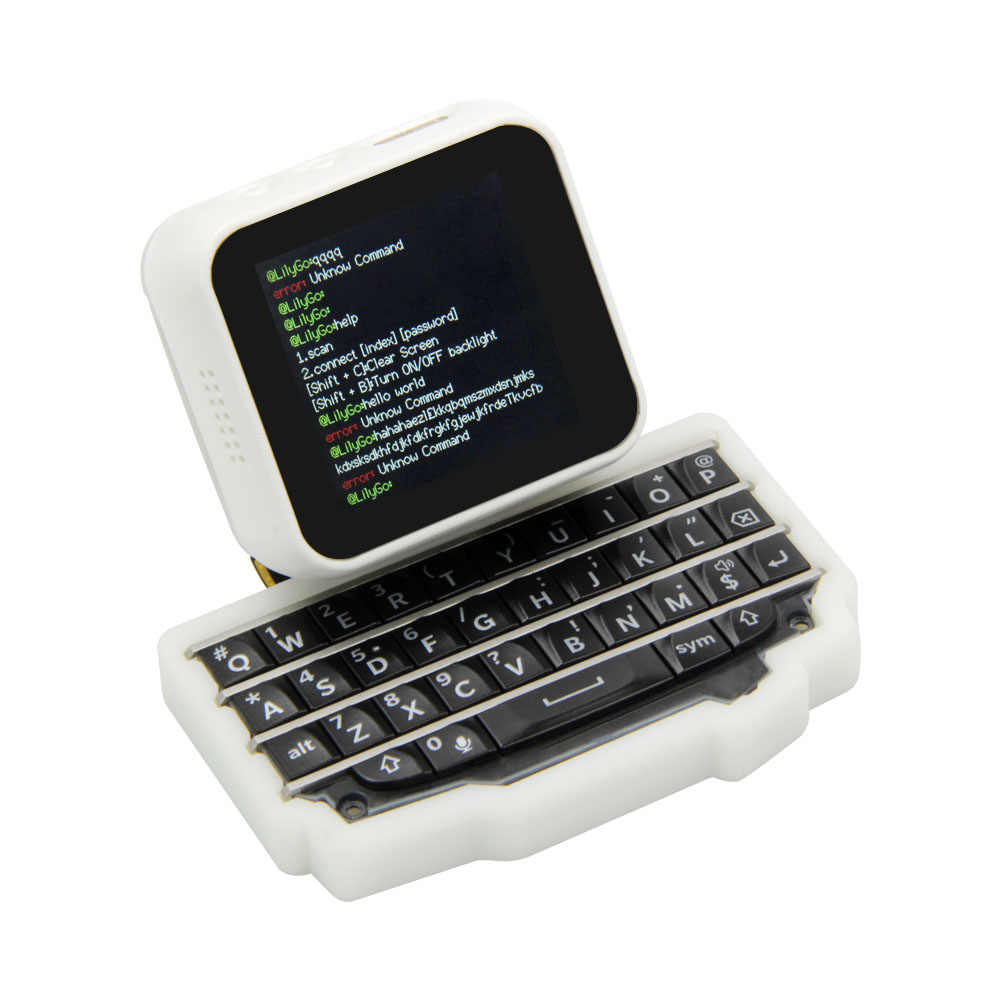 LILYGO®TTGO T-Watch Keyboard ESP32 Chip Utama Programmable Tonton Peralatan Dan MINI Ekspansi Keyboard