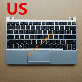 US/UK/ARAB/HB/ITALY/Bra/po   new laptop keyboard with touchpad palmrest for samsung  NC110 NC210