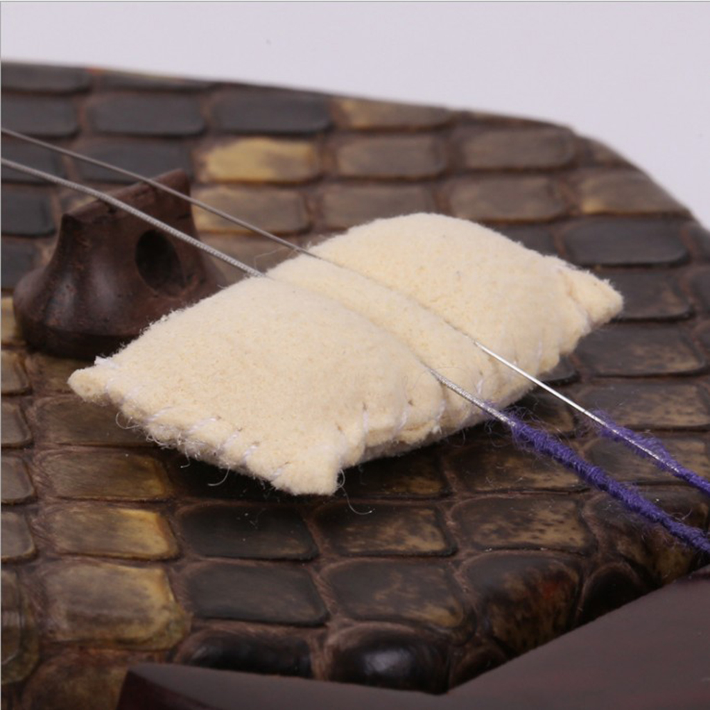 Chinese Erhu Tone Filter Silencer Pads For Beginner Erhu Lover Gift