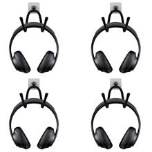 4 Headphone Stand Hanger Rack Wall Mount Under Desk Headset Self-sticking Holder(China)