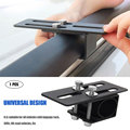 Car Luggage Mounting Bracket 1 Pack Car Spotlight Strip Light Stand Roof Bag Rack for SUV Off Road Vehicle
