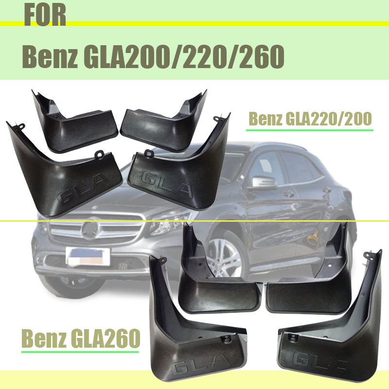 For Mercedes Benz GLA 200 220 260 X156 Mudflaps mudguards GLA200 splash guards GLA220 Fenders GLA260 2015-2018