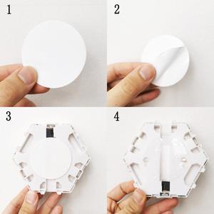 Image 5 - Nowoczesna lampa sufitowa LED loft brytyjski kreatywny Honeycomb modułowy montaż Helios ekran dotykowy lampy lampa kwantowa ściana magnetyczna światło