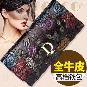 Женский кошелек iimis sis, розовый прессованный кошелек, модные сумочки, сумка-клатч с несколькими картами, женская сумка-кошелек
