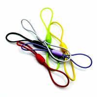 Elastic rope Mobile Case Strap Lanyard Lobster Clasp Cell Phone Cord Hang Rope Key Chain Charms Finding Connector Ring DIY