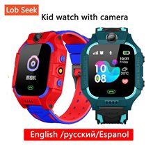 Spanish/Russian Smart Watch Kids LBS Positioning Lacation SOS Camera Phone Smart Baby Watch Voice Chat Smartwatch phone watch(China)