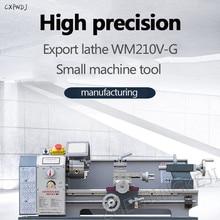 цены на WM210-G Small Metal Lathe Household Machinery Machine Tool Desktop Lathe Instrument Teaching Lathe Machining Center  в интернет-магазинах