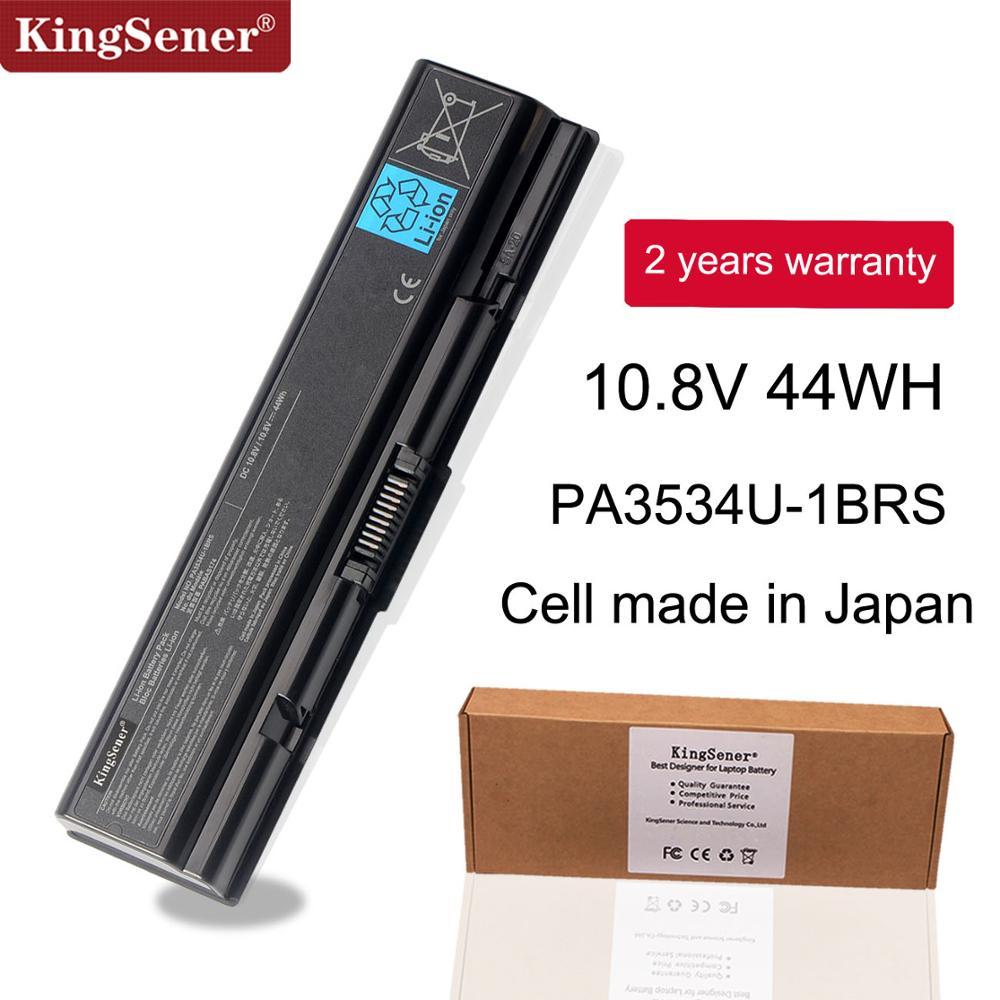 KingSener PA3534U-1BRS Laptop Battery For Toshiba Satellite A200 A210 A300 A350 L300 L500 L500D PA3533U PA3534U PA3535U-1BAS