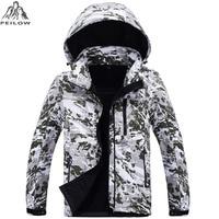 Camouflage Military Tactical Jacket Mens Softshell Waterproof Windbreaker Winter Fleece Liner Hunt Clothes Hooded Coat Men