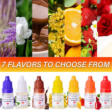 5 мл семь ароматов для ручной работы, косметический блеск для губ, блеск для губ, DIY пищевой ароматизатор, эфирное масло TSLM1