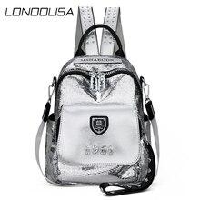 Moda sırt çantası kadın yüksek kaliteli sırt çantası yumuşak deri okul çantaları genç kızlar için 3 in 1 bayanlar seyahat sırt çantası kesesi dos