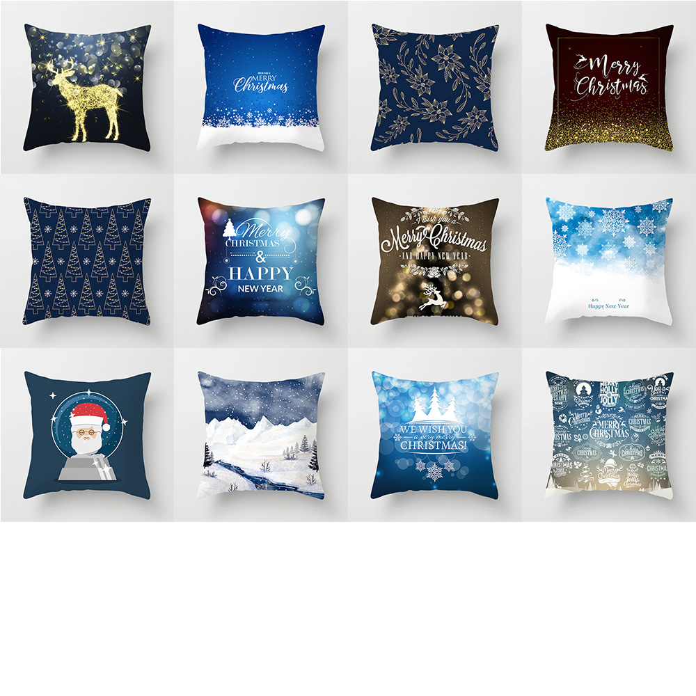 how to use decorative pillows 45x45cm blue christmas pillow cover letter alphabet printed grey how to use throw pillows on a bed 45x45cm blue christmas pillow cover