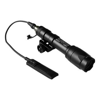 цена на M600C tactical SF weapon flashlight full version of LED tactical gun light remote control pressure 20 mm rail installation