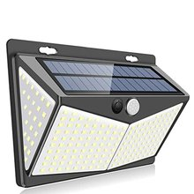 Wall-Light Solar-Induction Lamp 208 LED Beads Courtyard Split Outdoor COB