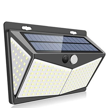 Outdoor courtyard garage solar induction wall light 208 lamp beads Split courtyard garage light LED COB