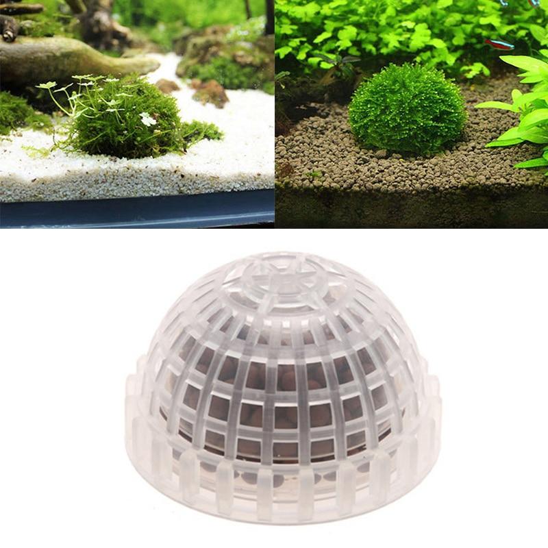 2019 Plastic Aquarium Decoration Live Plants Fish Tank Media Moss Ball Filter For Aquarium Aquatic font