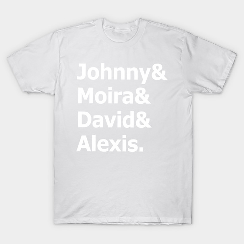 Johnny and Moira and David and Alexis T Shirt Schitts Creek tshirt ew david moira rose schitts david rose johnny rose alexis
