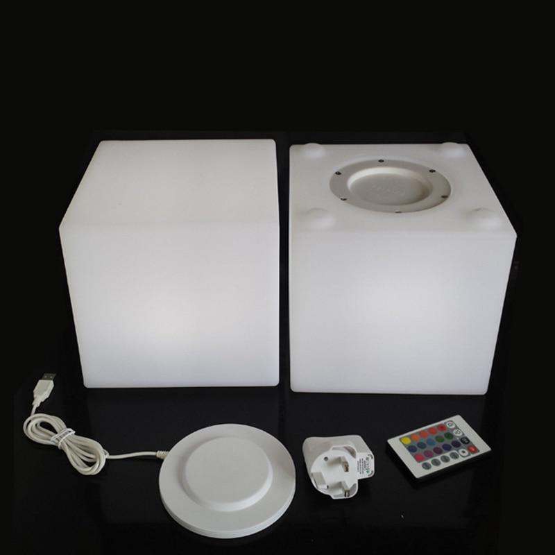 D20cm Luminated LED Cube Стул мини светодиодный - Мебель - Фотография 5