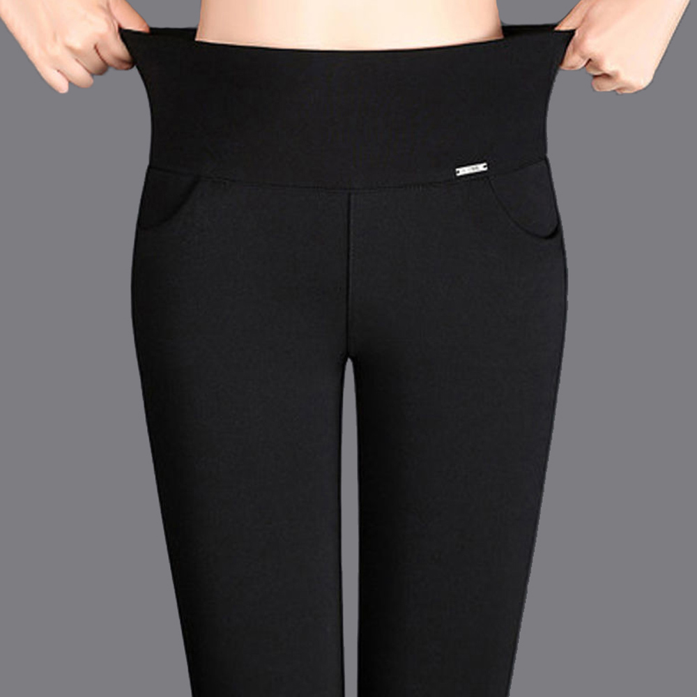 New Thin Summer Leggings Women High Stretch Leggings Plus Size Push Up Women Leggings Skinny Pencil Pants Women Casual Leggings
