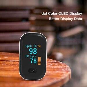 Image 4 - JYHealth Portable Finger Pulse Oximeter Blood Oxygen Heart Rate Saturation Meter Oximetro De Dedo Saturometro Medical equipment