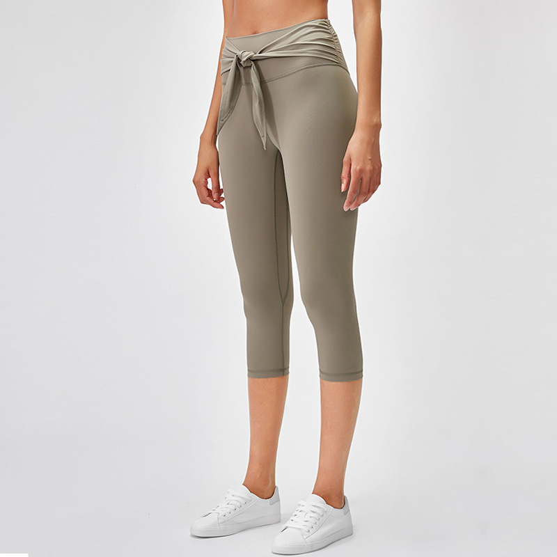 2020 Women High Waist Workout Fitness Capris skinny 4- way stretch pencil leggings