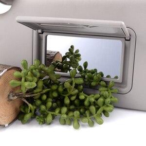 Image 3 - Links Grau Sonnenblende Make Up Spiegel Fit für Chevrolet Chevy Sonic Funken 2012 2013 2014 2015 2016