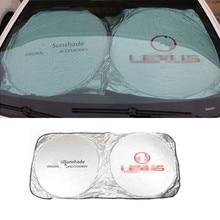 цена на Car Accessories Front Sunshades For Lexus RX350 RX300 IS250 RX330 LX470 IS200 LX570 GX460 GX ES LX IS IS350 LS460 SC430 GS300