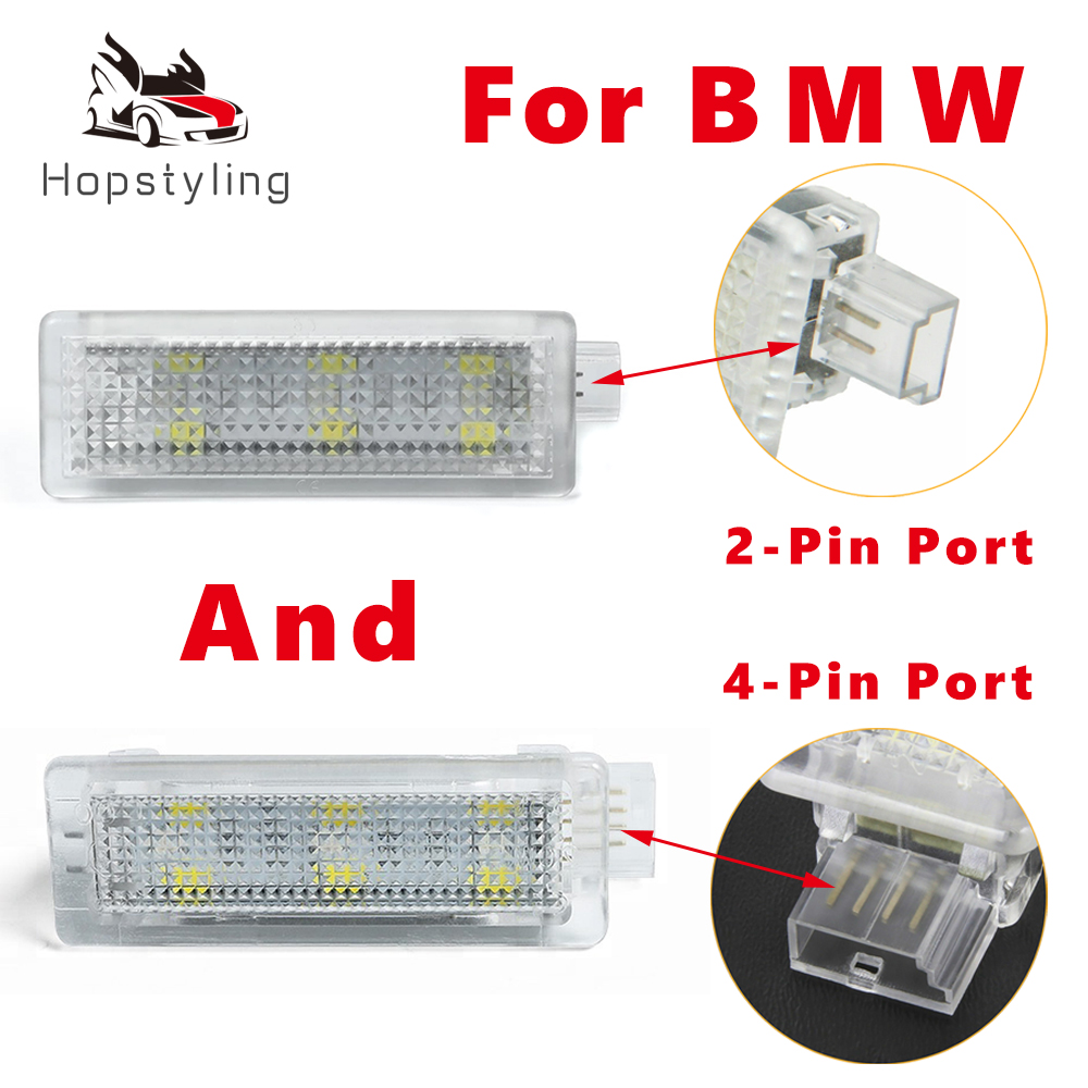 LED Under Door Interior Footwell Courtesy Light Luggage Trunk Glove Box Lamp For BMW 3 series E90 E91 E92 E93 F30 F31 F34 F80 M3 image