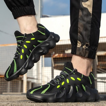 2020 Hot Sale Sneakers Men Breathable Fashion Outdoor Men Sneakers Lace Up Tennis Sport Casual Shoes Men Comfotable Footwear