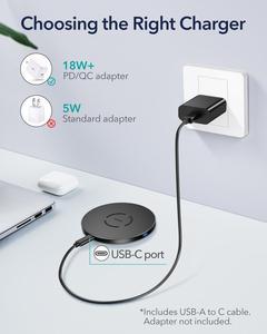 Image 4 - ESR Wireless Charger สำหรับ iPhone 12 /12 Pro/12 Pro Max/12 Mini 15W PD Fast ไร้สายชาร์จ Pad สำหรับ Airpods Pro Samsung Huawei
