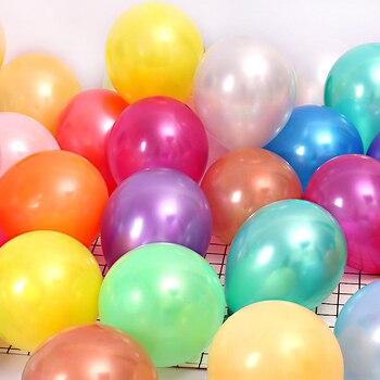10/20/30/50Pcs 10inch 1.5g Pearl Latex Balloons Happy Birthday Party Wedding Christmas Decorations Balloon Kids Air Balls Globos 2