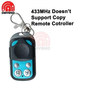4 CH mando inalámbrico de radiofrecuencia 433MHz para coche techos solares Control de interruptor de luz de puertas de sistema de Control de acceso sin copiar remoto Con