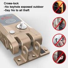 Smart Door Lock Invisible/Hidden Lock Remote Control/Bluetoo