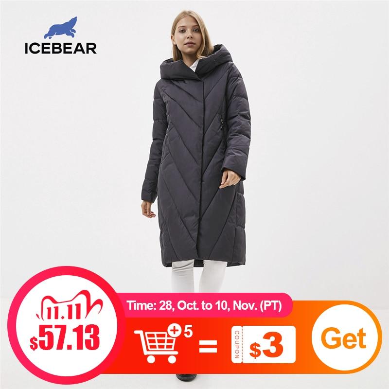 ICEbear Winter 2020 женское пальто с капюшоном модная женская куртка брендовая женская одежда GWD20149D|Парки| | АлиЭкспресс