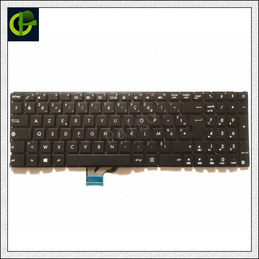 New French Azerty Keyboard For Asus UX510U UX510 V510UX UX510UA UX510UW V510UX7200 U5000u  U5000uq FR Laptop