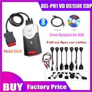 Diagnostic-Tool Car-Cables Obd2-Scanner Delphis DS150E Bluetooth Cdp Vd for 8pcs