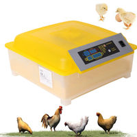 Egg Incubator Automatic Egg Incubator Hatcher Clear Egg Turning Temperature Control Poultry Hatcher Farm Hatchery Home Brooder