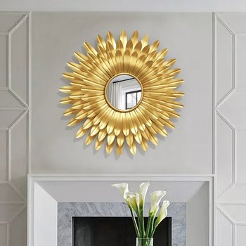 Iron Crafts Creative Gold Mirror 1