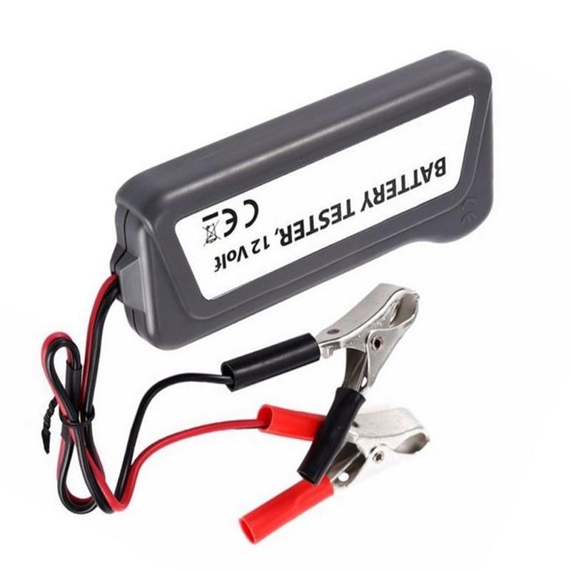 12V LED Car Battery Load Tester Alternator Analyzer Diagnostic Tool Auto Scanner